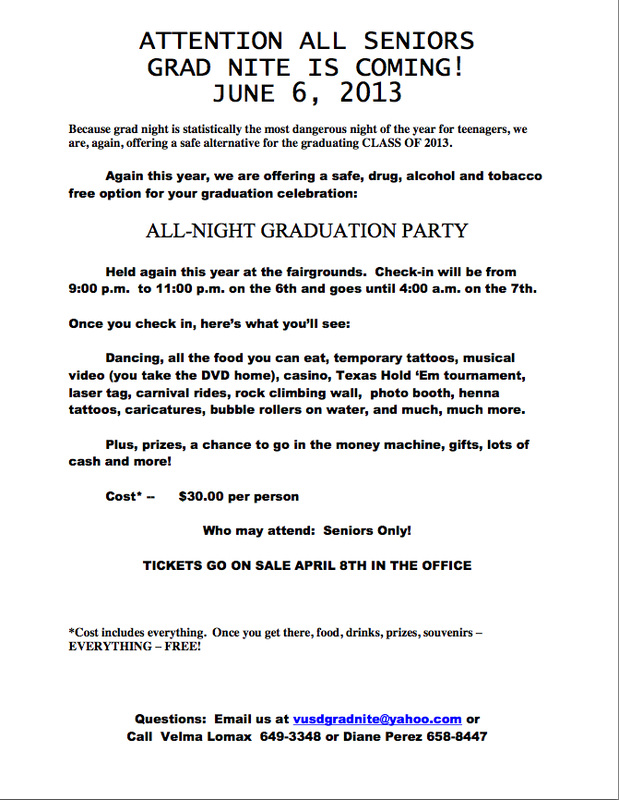Senior Grad Night - El Camino High School At Ventura College